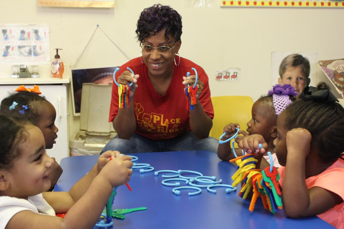 EFS helps early learning centers attain national accreditation.